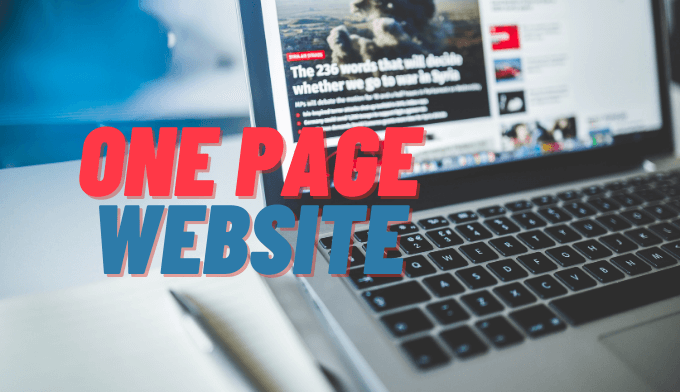 One Page Websites for Business