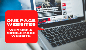 One Page Website: Why use a single page website